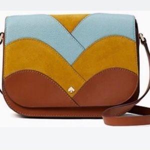 Kate Spade Nadine patchwork medium shoulder bag